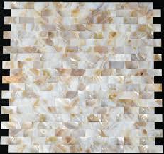 Mosaic Tiles For Kitchen Backsplash Mother Of Pearl Tile Kitchen Backsplash Mop012 Natural Brick Sea