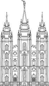 Salt Lake Temple Floor Plan by Salt Lake City Temple Clip Art 84