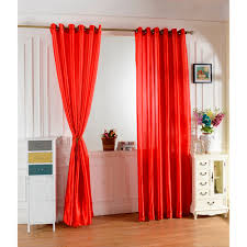 red window curtains promotion shop for promotional red window