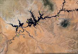 Lake Powell Map Houseboating On Lake Powell Az Ut Cooking In Tongues