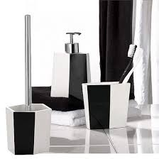 White Bathroom Accessories Set by Prepossessing 20 Black And White Bathroom Accessories Uk Design