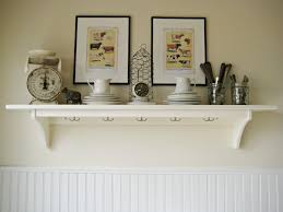Simple Wall Shelves Design Simple Creative Shelving Unit For Kitchen Design With Unstained