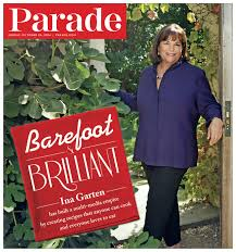 Ina Garten Address Parade 10 26 14 Ina Garden Barefoot U0026 Brilliant