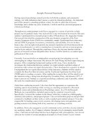 Example Personal Statements  personal statement letter sample  how     happytom co