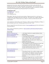 Best Job Sites To Post Resume by Job Search Rules Of The Road