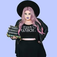 Teen Witch Halloween Costume Teen Witch Crop Tank Witch Goth Nu Goth Witch Worldwide