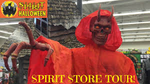 spirit halloween store animatronic monsters youtube