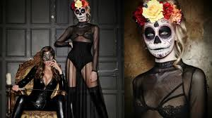 easy mexican sugar skull day of the dead makeup tutorial laura