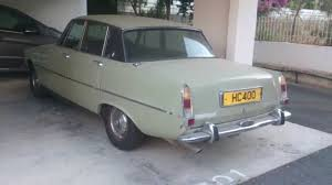 1973 rover 2000 tc in cyprus youtube