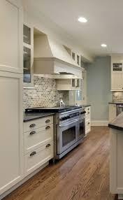 Height Of Kitchen Cabinet by Kitchen Best 25 Black Granite Countertops Ideas On Pinterest