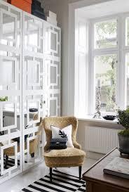 Scandinavian Homes Interiors Best Scandinavian Interior Decor With Yellowish Chair Before Desk