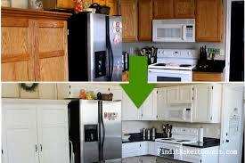 How To Paint Kitchen Cabinets Like A Pro 150 Kitchen Cabinet Makeover Find It Make It Love It