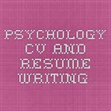 Pinterest     The world     s catalog of ideas Pinterest Psychology CV and Resume Writing