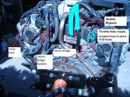 lexus rx330 evaporator coolant leak back of engine pull trans or engine clublexus
