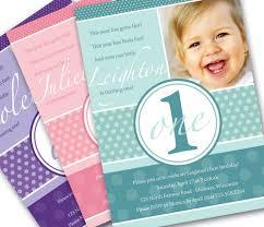 1st Year Baby Birthday Invitation Cards 1st Birthday Invitation Cards
