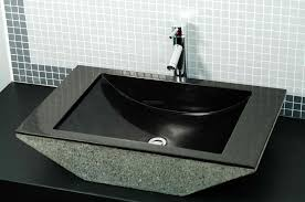 Bathroom Sink  Bowl Sink Small Vessel Sinks Double Vanity Copper - Black bathroom vanity with vessel sink