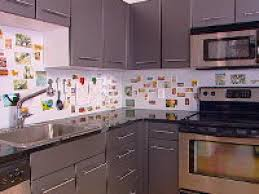 kitchen how to install ceiling tiles as a backsplash hgtv 14009419