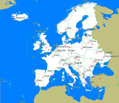 Map Of Western Europe by Openstreetmap Garmin Maps Maps Download