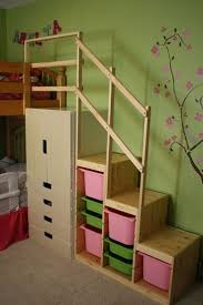 Plans For Bunk Bed With Steps by Best 25 Kid Loft Beds Ideas On Pinterest Kids Kids Loft