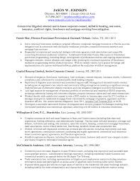 Sample Lawyer Resumes by Sample In House Counsel Resume Resume For Your Job Application