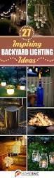 Patio Lights Outdoor by Top 25 Best Outdoor Patio Lighting Ideas On Pinterest Patio
