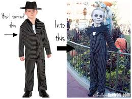 Walmart Halloween Costumes Girls Walmart Gangster Turned Jack Skellington Halloween Costume