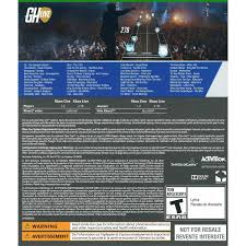 X Box Pics On A Bed Guitar Hero Live W Guitar Xbox One Walmart Com