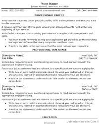 Application Resume Example by Free Professional Resume Examples