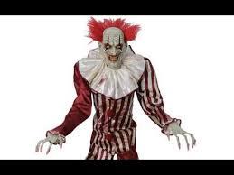 Clowns Halloween Costumes Spirit Halloween 2017 Seasonal Visions 7ft Evil Clown Leaked Video