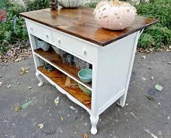 Antique Kitchen Island by Heir And Space Antique Dresser Turned Kitchen Island