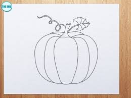 how to draw pumpkin youtube