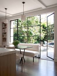 Custom Bookshelves Cost by Floor To Ceiling Windows Cost Home Theater Modern With Bar Stools