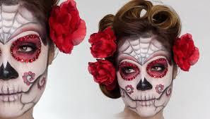 spirit halloween viera easy sugar skull day of the dead makeup tutorial for halloween