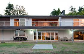 Mid Century Modern House Plan A Midcentury Modern Homes Catalog And Part Of An Architects Job Is