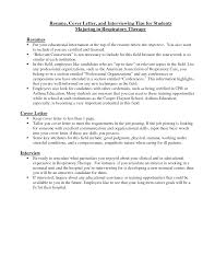 Physical Therapy Resume Sample by Respiratory Therapist Cover Letter Resume Cover Letter And