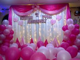 Background Decoration For Birthday Party At Home View Pictures Of Birthday Party Decorations Design Ideas Unique