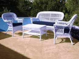 White Wicker Outdoor Patio Furniture by The Patio At Wickercentral Com