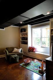 Black Ceiling Basement by 34 Best Basement Ceiling Images On Pinterest Basement Ideas
