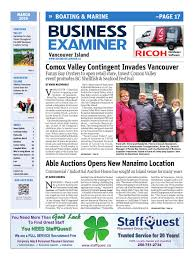 business examiner vancouver island march 2016 by business