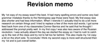 Sessay cc   pages Evaluation Essay Peer Review doc