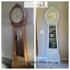 Grandmother Clock Painted Grandfather Clock Crafty Ideas Pinterest Grandfather
