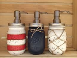 choose mason jar soap dispenser nautical decor zoom