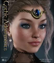 Maria Cichy Sv U0027s Gothic Adornments Genesis 3 Females 3d Figure Assets Sveva