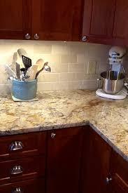 Backsplash Help To Go WTyphoon Bordeaux Granite Kitchens Forum - Kitchen backsplash ideas dark cherry cabinets