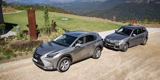 lexus vs audi q3 bmw x3 xdrive28i vs lexus nx200t sports luxury comparison test