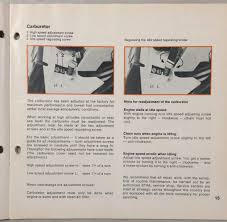 stihl 028 av operating instructions manual electronic quickstop