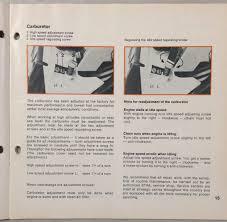 stihl 028 av operating instructions manual electronic quickstop