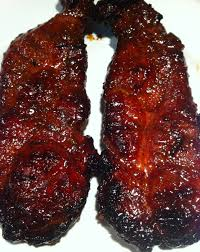 sweet smoked pineapple glazed country style ribs country style