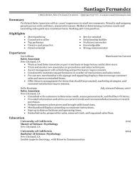 Buy Sales Associate Resume Resumes Buy