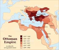 Map Of Europe And Africa by Turkish History The Ottoman Empire At Its Greatest Extent In 1683